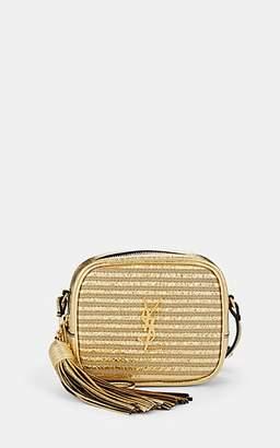 Saint Laurent Women's Monogram Blogger Leather Crossbody Bag - Gold