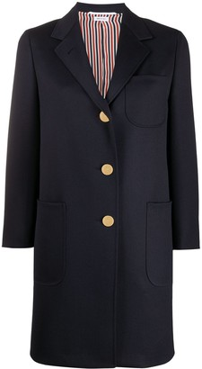 Thom Browne Relaxed Twill Coat