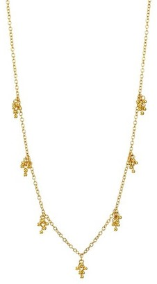 Gurhan Boucle 24K Yellow Gold Charm Necklace