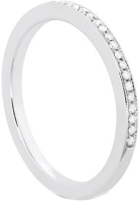 Hearts On Fire 18K 0.14 Ct. Tw. Diamond Deco Chic Milgrain Ring