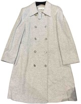 Escada Grey Cashmere Coat for Women