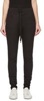 Earnest Sewn Black Kendall Lounge Pants