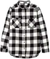 H&M Flannel Shirt - Black - Ladies