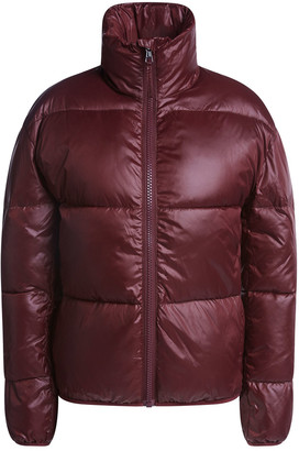 Set Fashion - Quilted Jacket with stand-up collar - 34 | nylon | bordeaux - Bordeaux