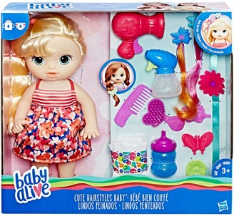 Hasbro Baby Alive Blonde Cute Hairstyles Baby