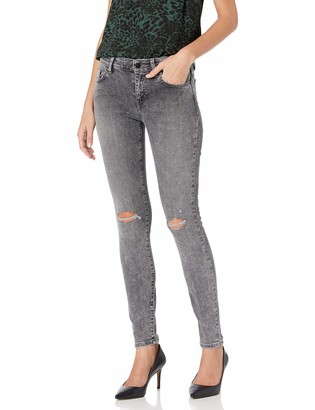GUESS Women's Mid Rise Skinny Jean