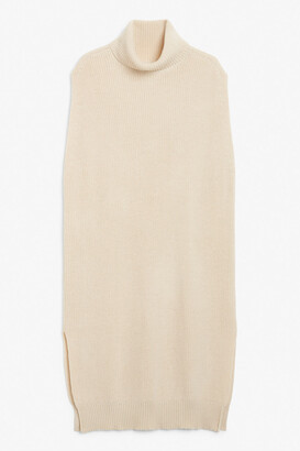 Monki Sleeveless knitted maxi dress