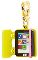 Juicy Couture Yellow E-Reader / Electronic Tablet Charm - IPad Style