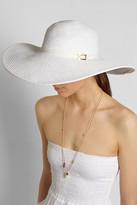 Melissa Odabash Jemima wide-brim woven hat