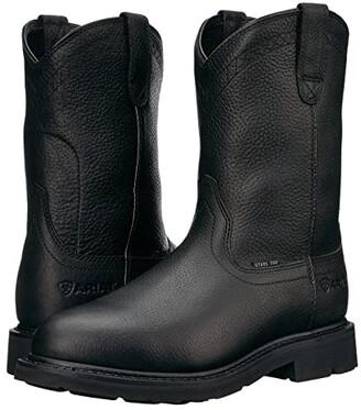 Ariat Sierra Steel Toe (Black) Cowboy Boots