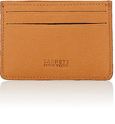 Barneys New York MEN'S CARD CASE-TAN