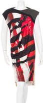 VPL Printed Knee-Length Dress