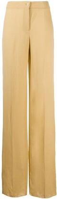 Romeo Gigli Pre Owned 1990s Wide-Legged Trousers