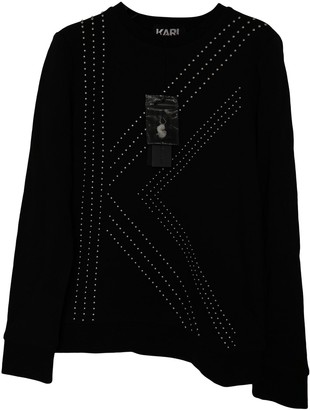 Karl Lagerfeld Paris Black Knitwear for Women Vintage