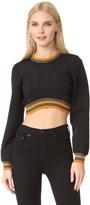 Versus Crop Top Sweatshirt