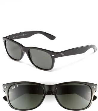 Ray-Ban Standard New Wayfarer 55mm Polarized Sunglasses