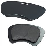 Multi-purpose knee table 19'' laptop tray travel laptop desk lapdesk black