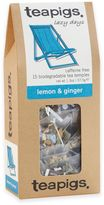teapigs 90-Count Lemon and Ginger Tea Temples