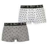 Penguin 2 Pack Printed Trunk Boxers