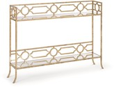 The Well Appointed House Regina Andrew Geometric Shelf Console Table