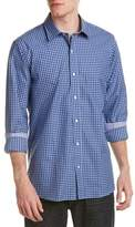 J.Mclaughlin Clinton Trim Fit Woven Shirt.