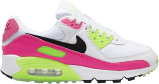 Nike 90 Running Shoes - White / Black Pink Blast