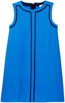 J.Crew Factory J. Crew Factory Contrast Trim Shift Dress (Little Girls & Big Girls)