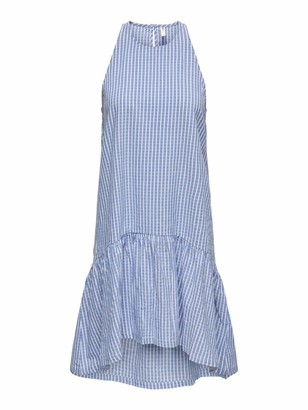 Only Women's ONLGERRY Life SL MIDI STR DNM Dress QYT