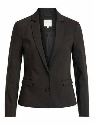 Vila NOS Women's Shirt All Over Print Palms Suit Jacket