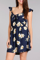 Blu Pepper Floral Woven Dress