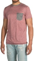 Raw Yarn Industries Solid T-Shirt - Crew Neck, Short Sleeve (For Men)