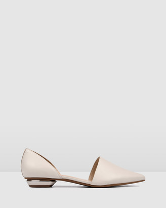 Jo Mercer - Women's Neutrals Ballet Flats - Costa Dress Flats - Size One Size, 38 at The Iconic
