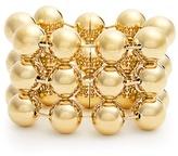 Balenciaga Triple ball-bead chain bracelet