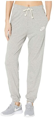 Nike NSW Gym Vintage Pants (Dark Grey Heather/Sail) Women's Casual Pants