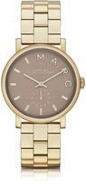 Marc by Marc Jacobs Baker Bracelet 36MM Gold IP Women's Watch