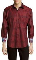 Robert Graham Floating City Classic-Fit Cotton Button-Down Shirt