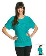 Amy Byer Novelty Stitch Pullover Sweater
