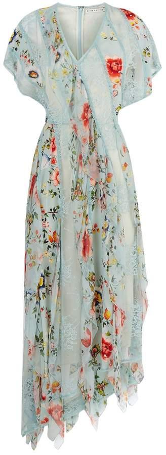 Alice + Olivia Kadence Floral Dress