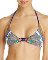 Trina Turk Pacific Paisley Bikini Top