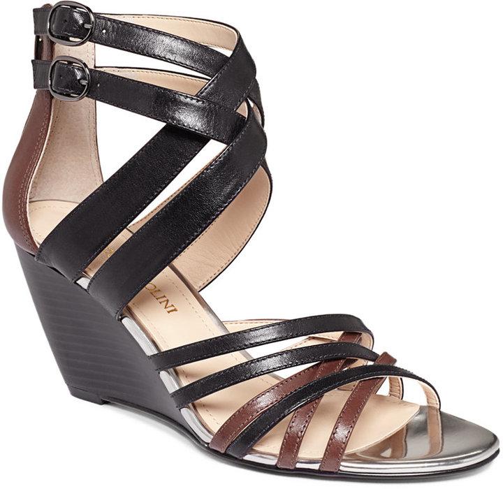 Enzo Angiolini Mezmerize Wedge Sandals