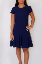 Amanda Uprichard Hudson Blue Dress