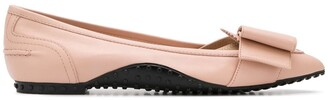 Tod's ballerinas with a bow detail