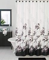 Lenox Bath Accessories, Moonlit Garden Shower Curtain Bedding