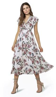 BB Dakota Elegant Domain Midi Dress
