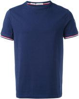 Moncler contrast logo T-shirt - men - Cotton/Spandex/Elastane - XXL