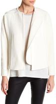 Vince Frayed Edge Boucle Jacket