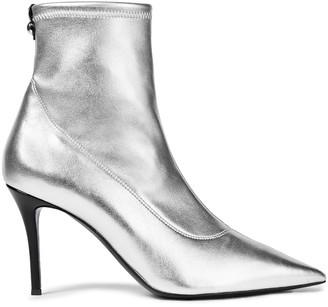 Giuseppe Zanotti Lucrezia 90 Metallic Stretch-leather Sock Boots