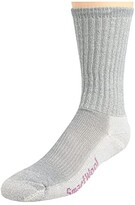 Smartwool Hike Light Crew 3-Pack (Light Gray) Women's Crew Cut Socks Shoes