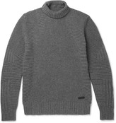 Belstaff - Littlehurst Ribbed Wool And Cashmere-blend Rollneck Sweater