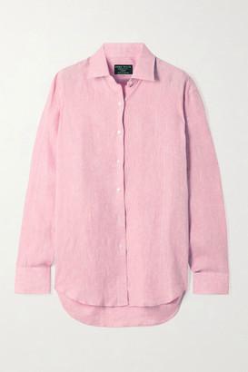 Emma Willis Jermyn Street Linen Shirt - Pink